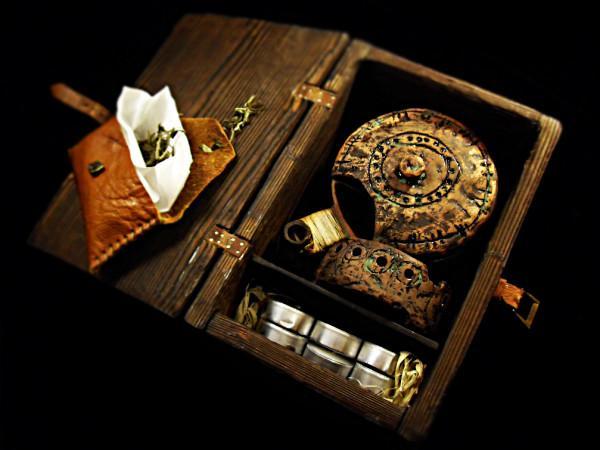 Кружка-чайник шамана-путешественника
