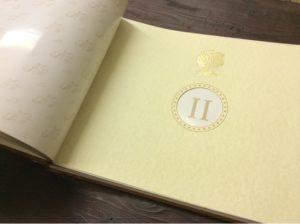 Кожаный фамильный фотоальбом с керамическим шильдом