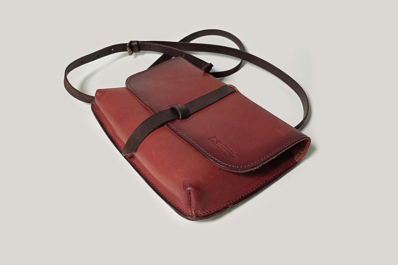 Кожаная сумка Zero женская