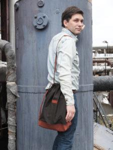 Кожаный рюкзак Dex-Tex
