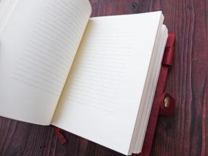 Красная книга для записи стихов.