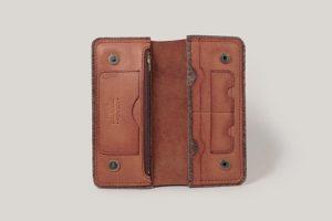 Кожаный кошелек Warm Winter