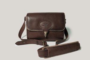 Кожаная сумка Cary-wool женская.