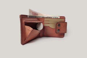 Кожаный кошелек Zenom