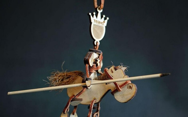 принц на белом коне, корпоративные сувениры с логотипом