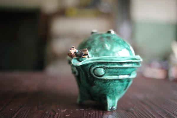 Гайвань «зеленый чай»