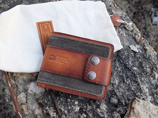 Кожаный кошелек Zenom-Tex