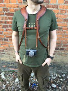 Разгрузка (ремни) для двух фотоаппаратов