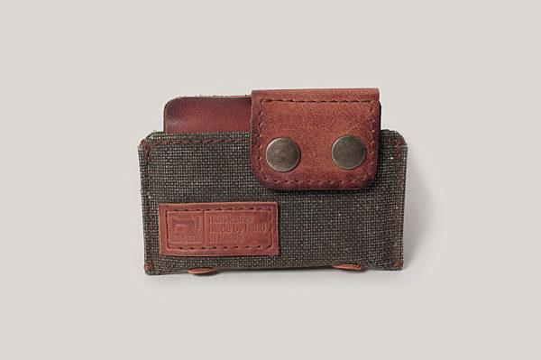Кожаная кредитница-визитница-кошелек «Y-Tex»