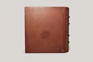 Альбом для монет кожаный в шубере