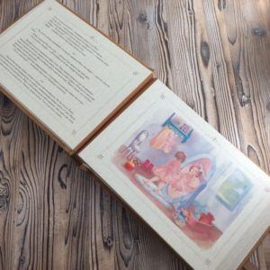 """Книга-сказка """"Платье для богомола""""."""
